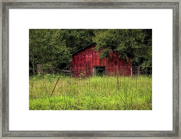 Small Barn 3 Framed Print