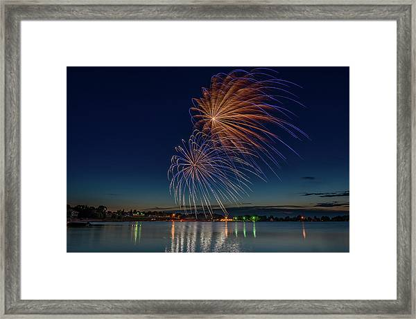 Small Town 4th Framed Print