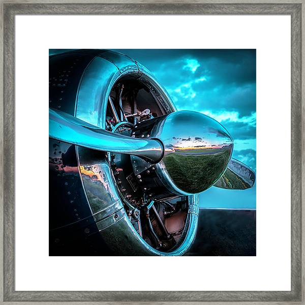 Snj-5 Texan Framed Print