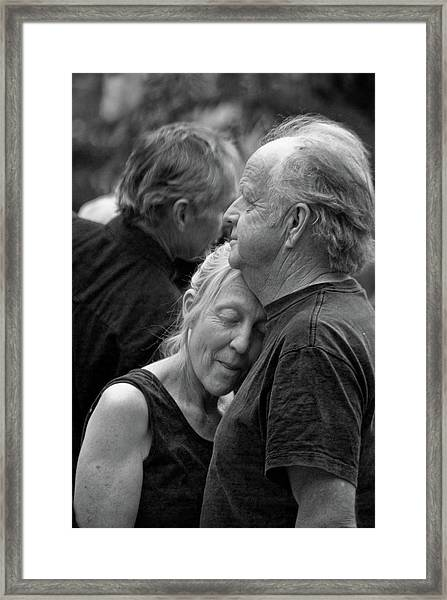Framed Print featuring the photograph So Close by Catherine Sobredo