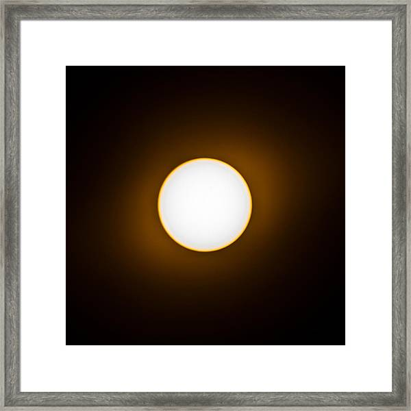 Solar Framed Print by Christine Buckley