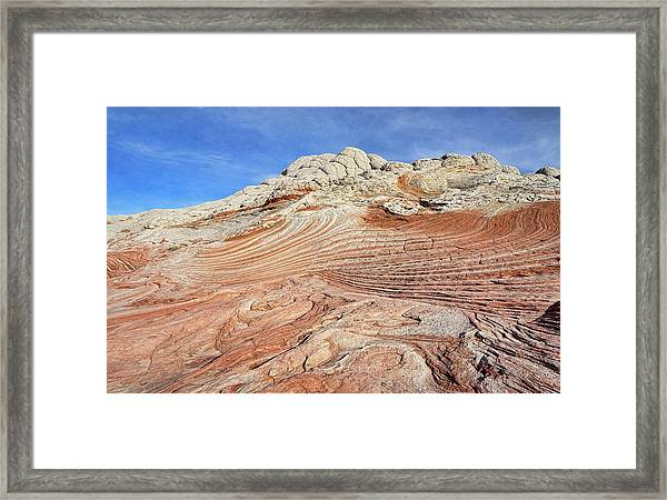 Solid Waves Pano Framed Print