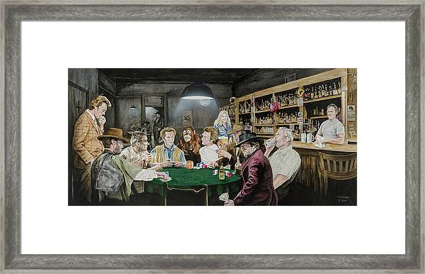 Solitaire The Clintessentials Framed Print