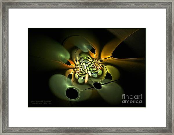 Some Assembly Required Framed Print