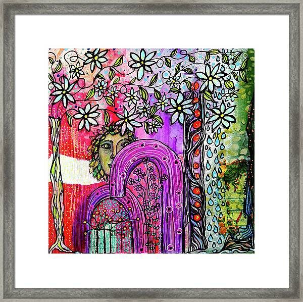 Something About Spring Framed Print