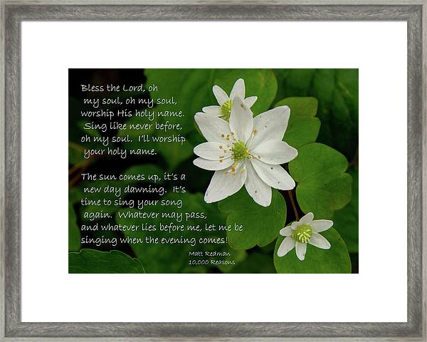 Psalm 103 Framed Art Prints | Fine Art America