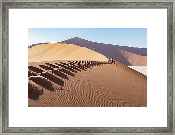 Sossusvlei Desert Framed Print