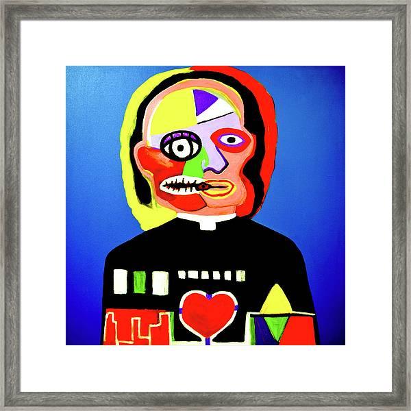 Soul Control Framed Print