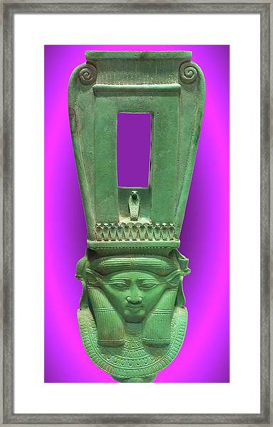 Sound Machine Of The Goddess Framed Print