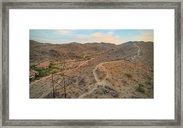 South Mountain Framed Print