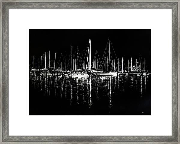South Yacht Club Framed Print