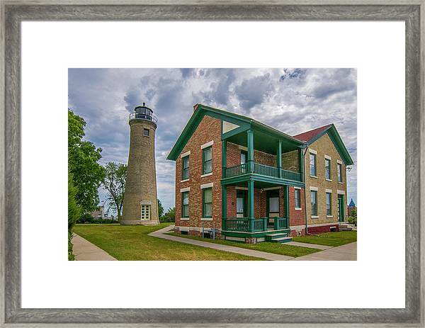 Southport Lighthouse  Framed Print