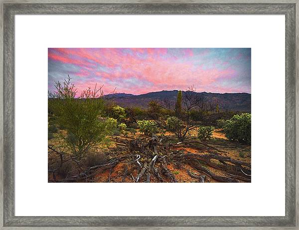 Southwest Day's End Framed Print