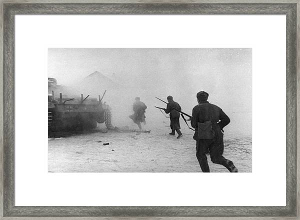 Soviet Counter-attack Framed Print