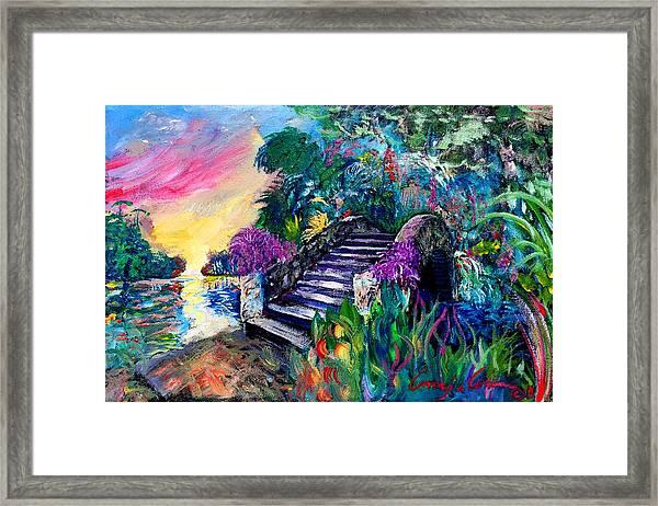 Spirit Bridge Two Framed Print