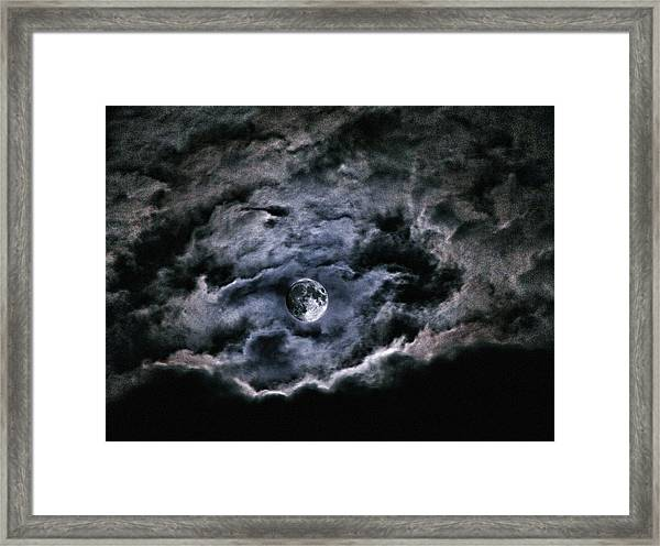 Spirits Of The Night Framed Print
