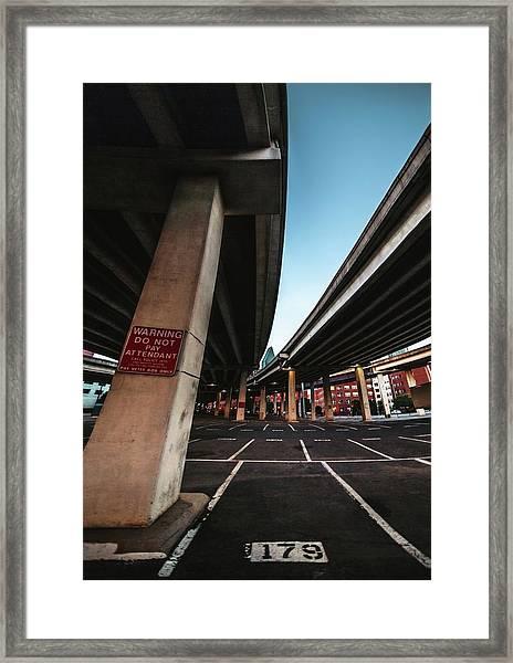 Spot 179 Framed Print
