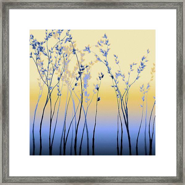 Spring Aspen Framed Print