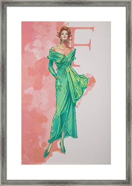 Spring Fling Framed Print by Barbara Tyler Ahlfield