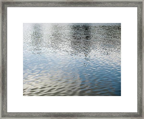 Spring Lake_3931_12 Framed Print