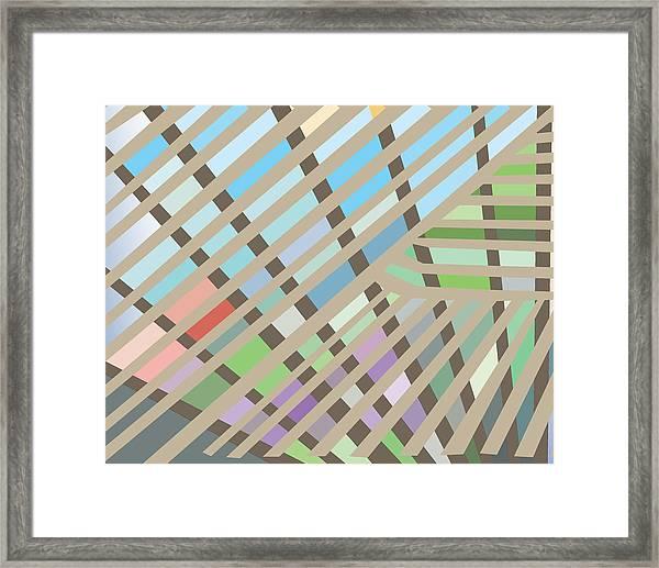Springpanel Framed Print