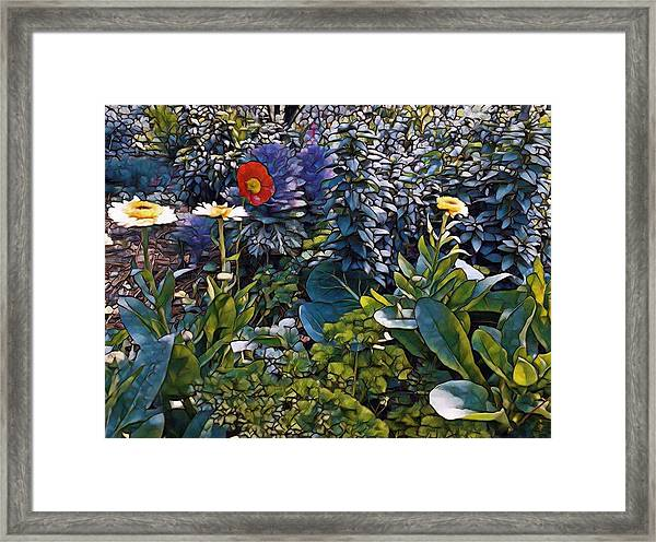 Sprint Into Spring Framed Print