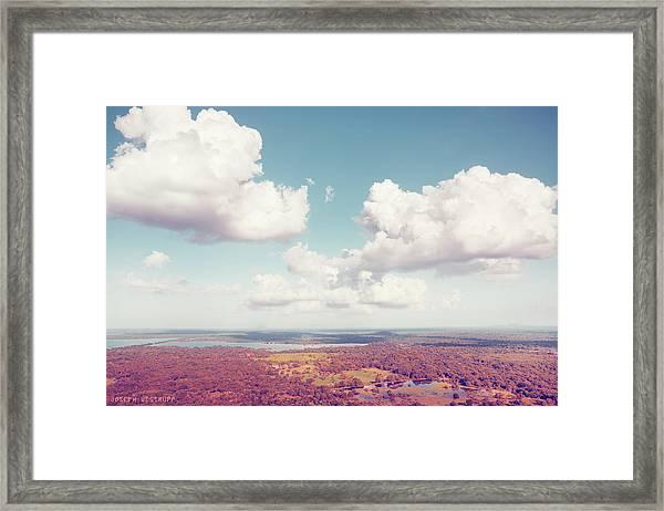 Sri Lankan Clouds In Pastel Framed Print