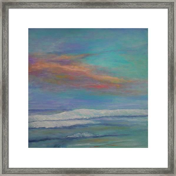 St. Augustine Sunset Framed Print