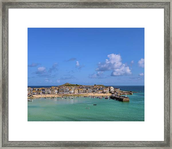 St Ives Cornwall - General View Framed Print
