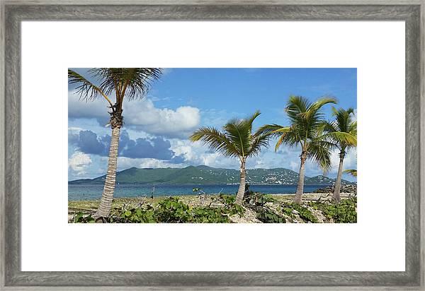St. John View Framed Print