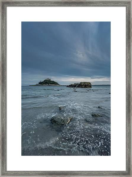 St Michael's Mount - Marazion - Cornwall Framed Print