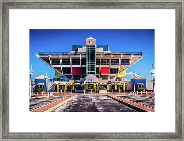 St Pete Pier Framed Print