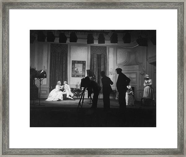 Stage Photography Framed Print by Sasha