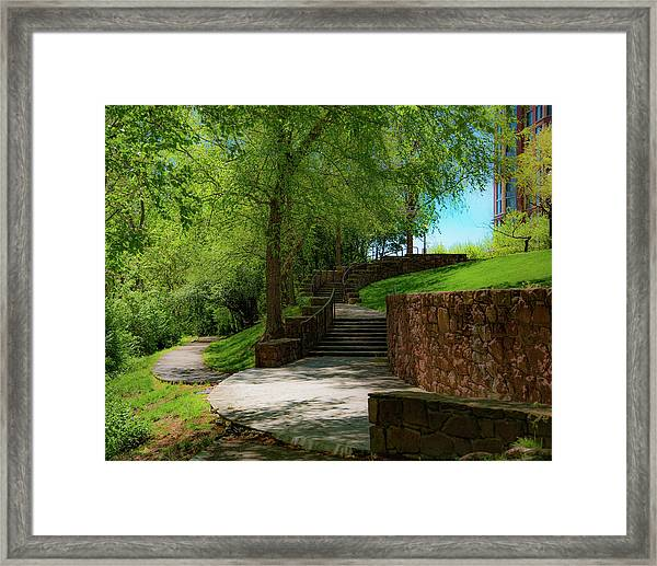 Stairway To Carlyle Framed Print