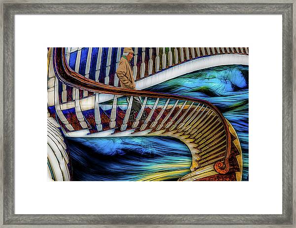 Stairway To Perdition Framed Print