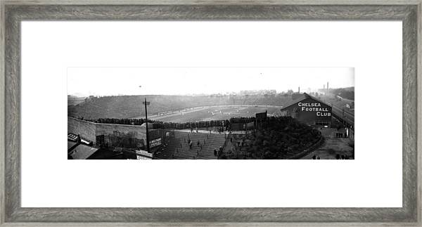 Stamford Bridge Framed Print