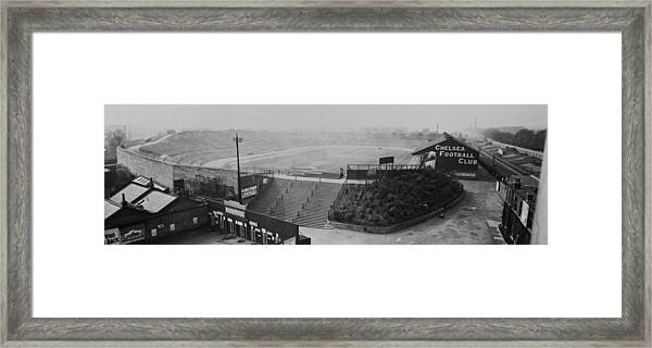 Stamford Bridge View Framed Print