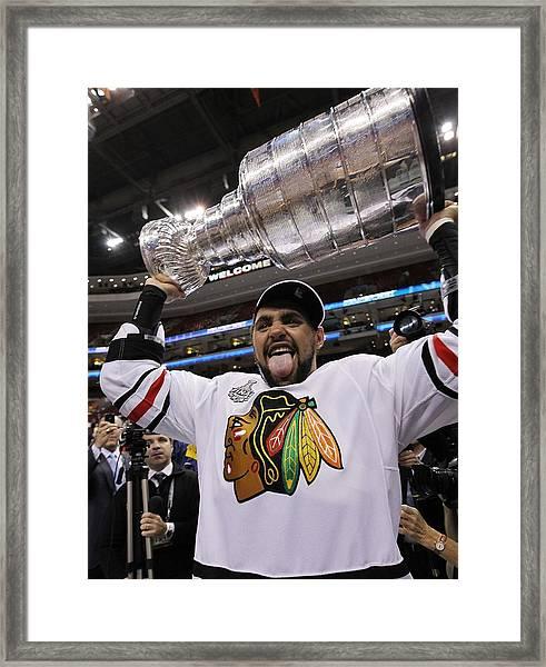 Stanley Cup Finals - Chicago Blackhawks Framed Print