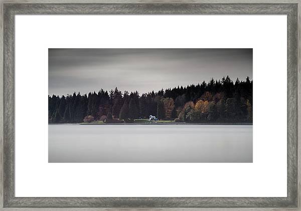 Stanley Park Vancouver Framed Print