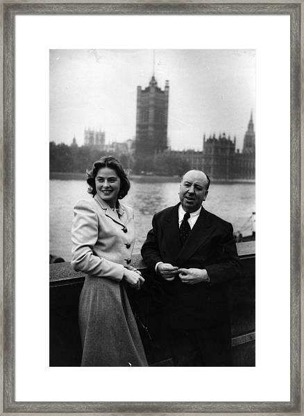 Star And Director Framed Print by Kurt Hutton