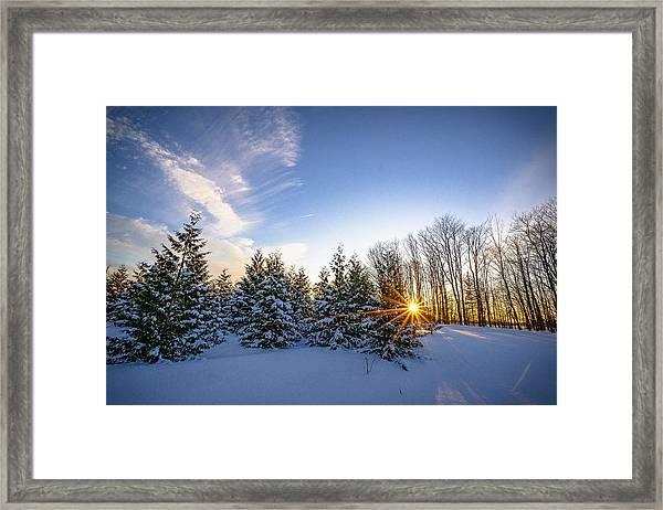 Star Bright Framed Print
