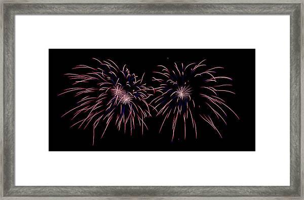 Starbursts Framed Print
