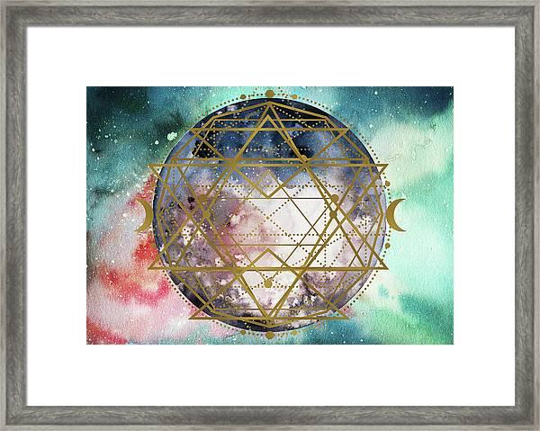 Starchild Framed Print