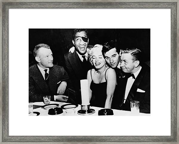 Stars At The Crescendo Club Framed Print
