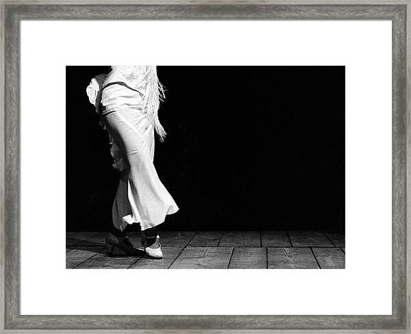 Starting Flamenco Framed Print
