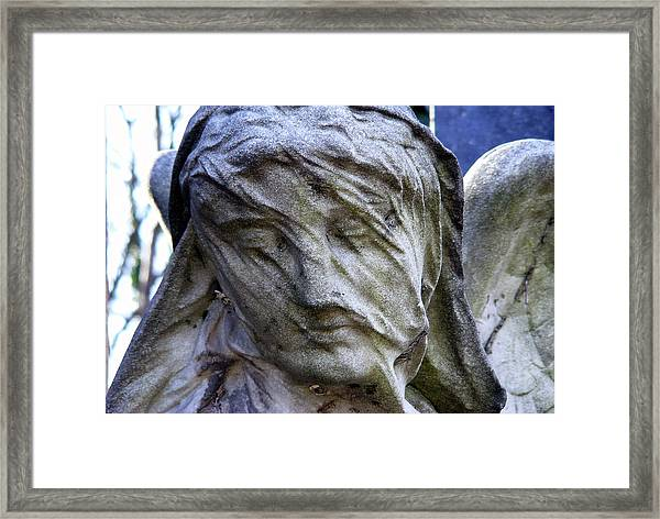 Statue, Thought Framed Print