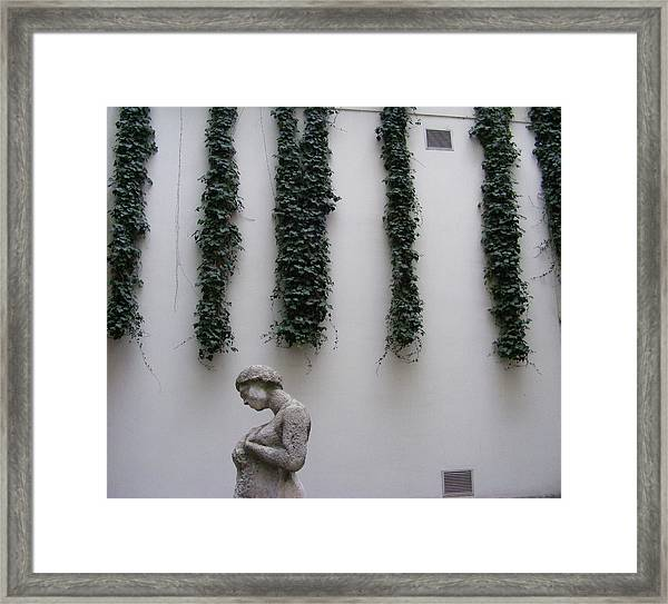 Statue, Wall Framed Print