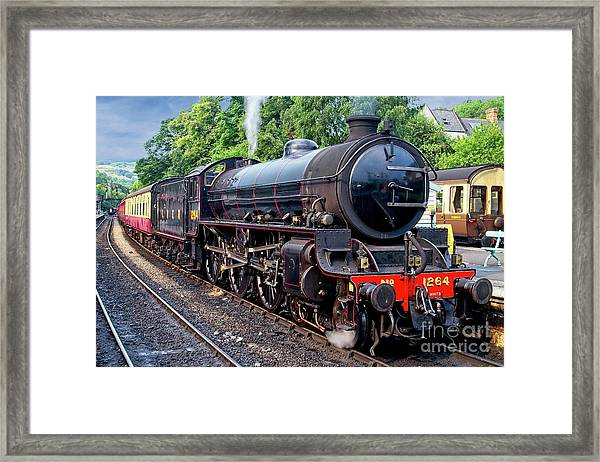 Steam Locomotive 1264 Nymr Framed Print