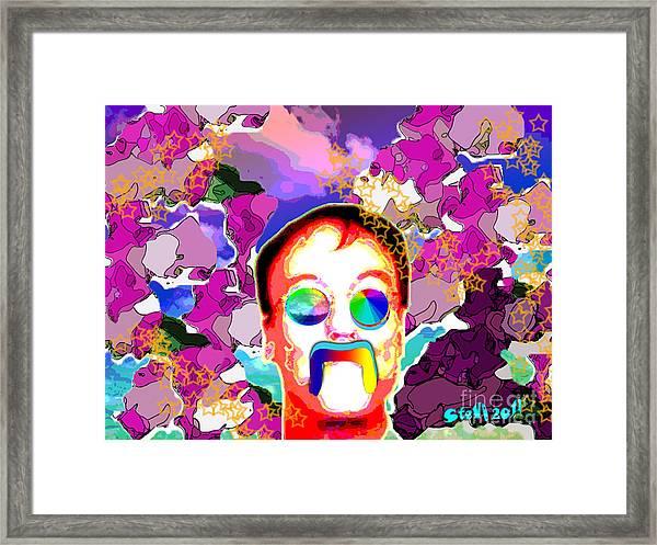 Stevie Max Framed Print