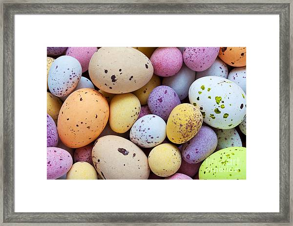 Still Life Photo Of Lots Of  Colourful Framed Print